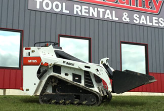 Bobcat Mini Loader for Rent