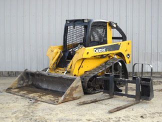 Track Drive Skid Steer with Bucket or Forks